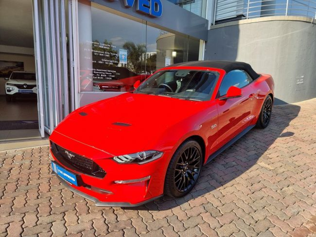 2021 Ford MUSTANG 5.0GT Convertible 10AT for sale - U32934