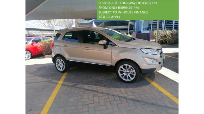 2020 Ford EcoSport ECOSPORT 1.0 ECOBOOST TITANIUM A/T for sale - US2439