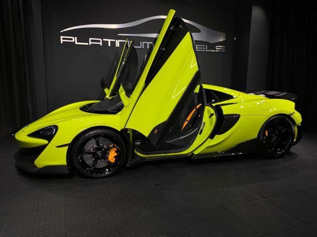 Automatic MCLAREN 600LT 2019 for sale