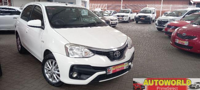 2017 Toyota Etios hatch 1.5 Sprint for sale - 10-472885