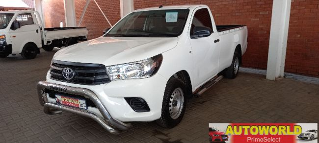 2017 Toyota Hilux 2.4GD (aircon) for sale - 10-172639